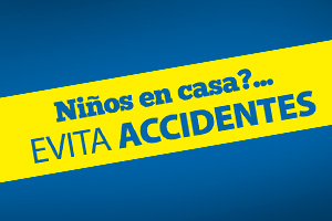Evita accidentes en casa